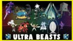 👾👽👽👾 All Ultra Beasts - Pokemon Ultra Sun & Ultra Moon [11 Ultra Best]👾👽👽👾