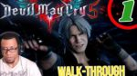 Devil May Cry 5 Full Walkthrough Part 1 | Dante and Nero vs Demon King??!!