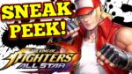 King of Fighters ALLSTAR : FIRST LOOK !