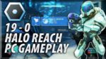 HALO REACH INVASION PC BETA GAMEPLAY - 19 Kills 0 Deaths! Awesome Sprees!
