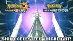 SHINY CELESTEELA REACTION! - Pokemon Ultra Sun and Ultra Moon
