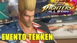 THE KING OF FIGHTERS ALL STAR - Evento Tekken Stage #1 (Comentado)