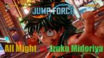 Jump Force - All Might vs Izuku Midoriya 🔰