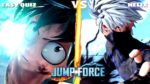 Jump Force - Destroying some kid from TEXAS!