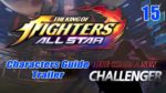 KOF ALLSTAR - Characters Guide Trailer 15