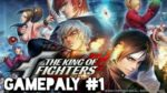 The king of fighters Allstar Android mobile game gameplay