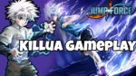 #jumpforce Killua Is Awesome Character |Jump Force Gameplay