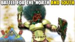 BATTLE FOR THE NORTH AND SOUTH   TRIBE WARS: EMPIRES   ARK SURVIVAL EVOLVED EP15