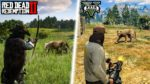 How Times Have Changed | Life Comparison (GTA 5 & Red Dead Redemption 2)