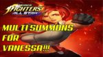 King of Fighters: All Star MULTI SUMMONS FOR VANESSA!!!