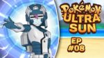 TAKING DOWN A CYBORG AND A KAHUNA! | Pokemon Ultra Sun & Ultra Moon Let's Play - 08