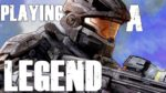 PLAYING A LEGEND | Halo: Reach Multiplayer