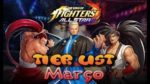 Tier List Março The King of Fighters ALLSTAR March Global