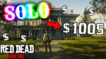 HURRY! EASY *SOLO* MONEY/XP IN RED DEAD ONLINE! (RED DEAD REDEMPTION 2)