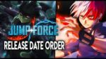 Jump Force DLC Season 2 Release Date Order (Speculation)