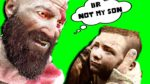when dad sees u cry.. | God of War #3